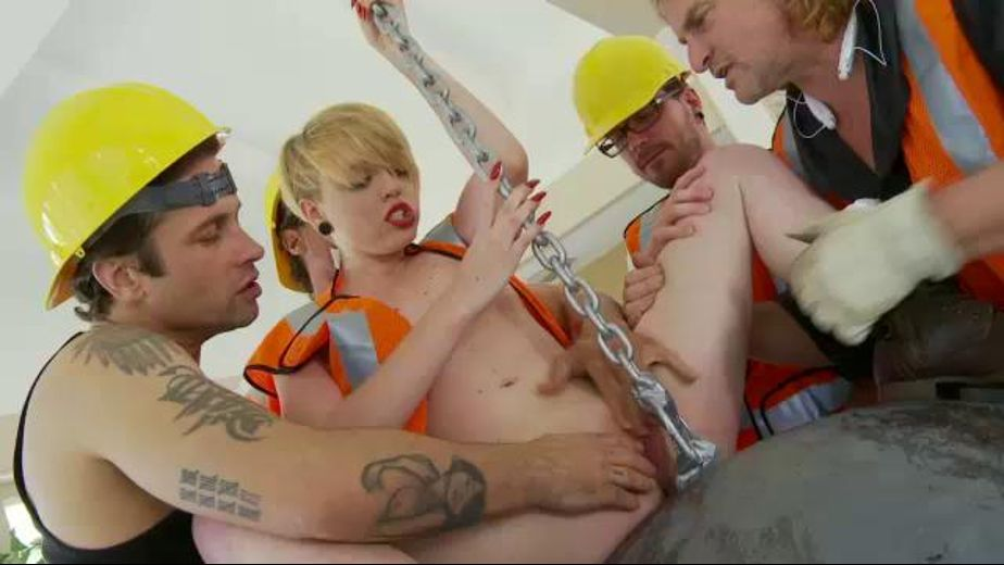 Miley May Gets Wrecked by the Wrecking Crew, starring Evan Stone, Alan Stafford and Miley Mae, produced by Illicit Behavior. Video Categories: GangBang, Natural Breasts and Blondes.