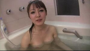 Playful Japanese Bathtime.