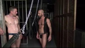 Chained, Choked, and Fed Cock.