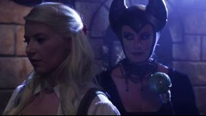 Anikka Albrite Meets Maleficent.