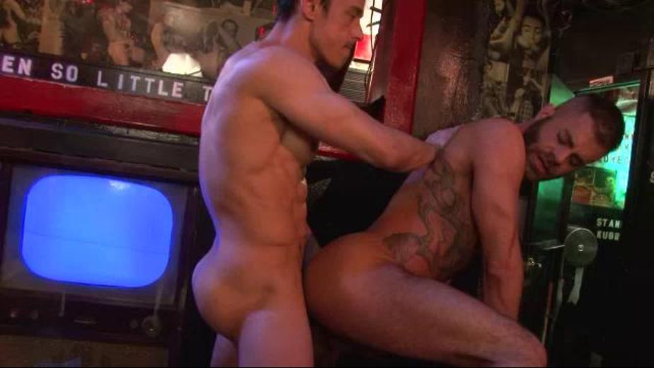 Hot Hole Fucking In The Gay Bar, starring Rafael Alencar and Marcus Isaacs, produced by NakedSword Originals. Video Categories: Anal, Bear, Muscles and Safe Sex.