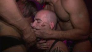 Gangbang at Live Sex Show.
