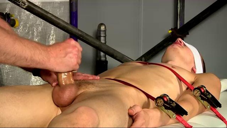 Strapped Down And Stroked, starring Sebastian Kain and Reece Bentley, produced by BoyNapped. Video Categories: College Guys, Fetish, Masturbation, BDSM and Euro.