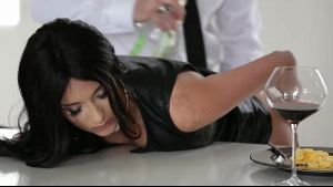 Anissa Kate Dominated in the Kitchen.