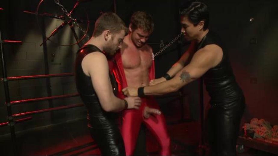 Chained and Teased, starring Connor Maguire, produced by KinkMen. Video Categories: Fetish, Blowjob, Muscles, BDSM and Leather.
