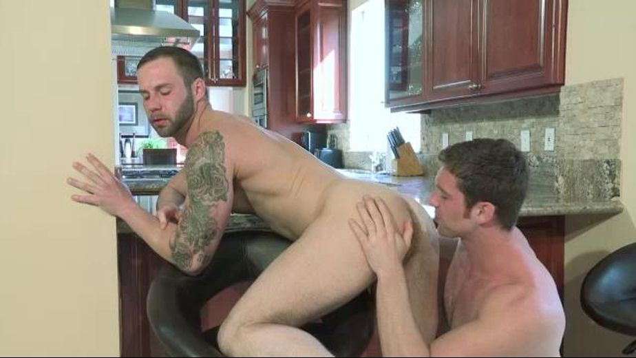 Steamy Heat In The Kitchen, starring Connor Maguire, produced by Raging Stallion Studios and Falcon Studios. Video Categories: Safe Sex, Anal and Muscles.