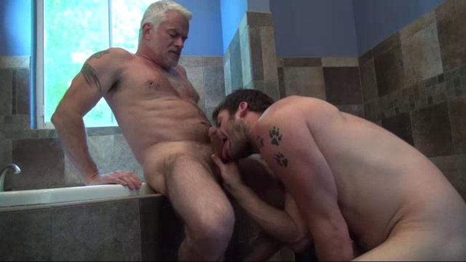The Rough and Raw Daddies, starring Jake Marshall and Anthony Marx, produced by Bareback RT. Video Categories: Anal, Bear, Bareback and Mature.