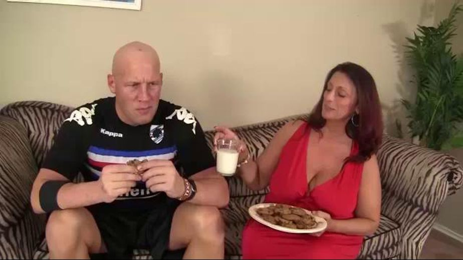 Bribed for Sex With Milk and Cookies, starring Lauren Fun, produced by CX WOW Production. Video Categories: Blowjob, BBW, Redheads and MILF.