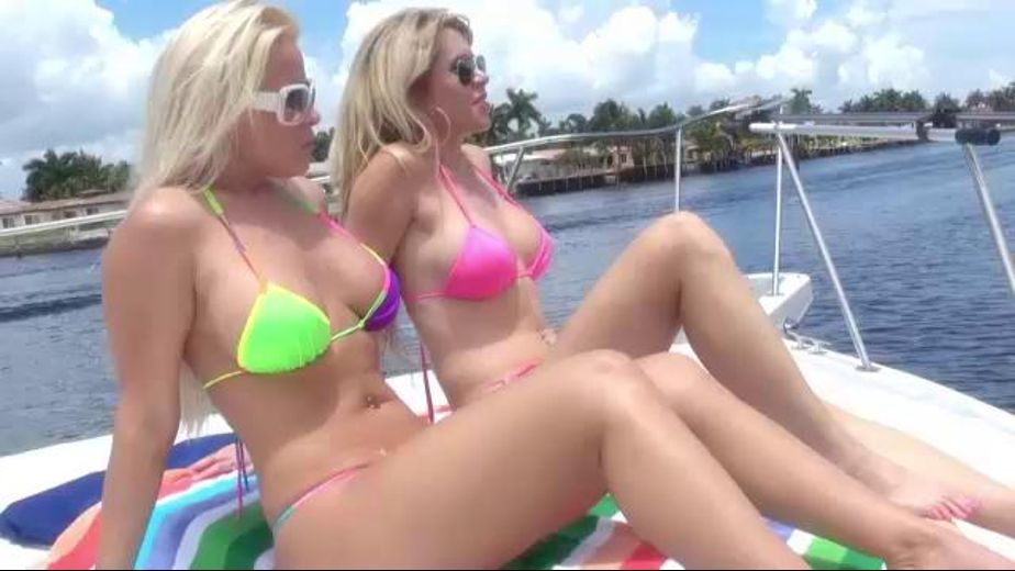 These Lesbians Are on A Boat, produced by Forbidden Fruits Films. Video Categories: Older/Younger, College Girls, Mature, Lesbian and Blondes.