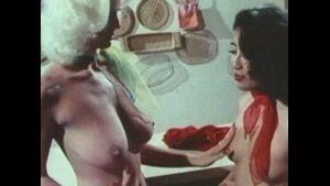 Classic Seka, John Leslie and Linda Wong.
