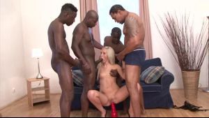Four Guys And Nasty Little Slut.