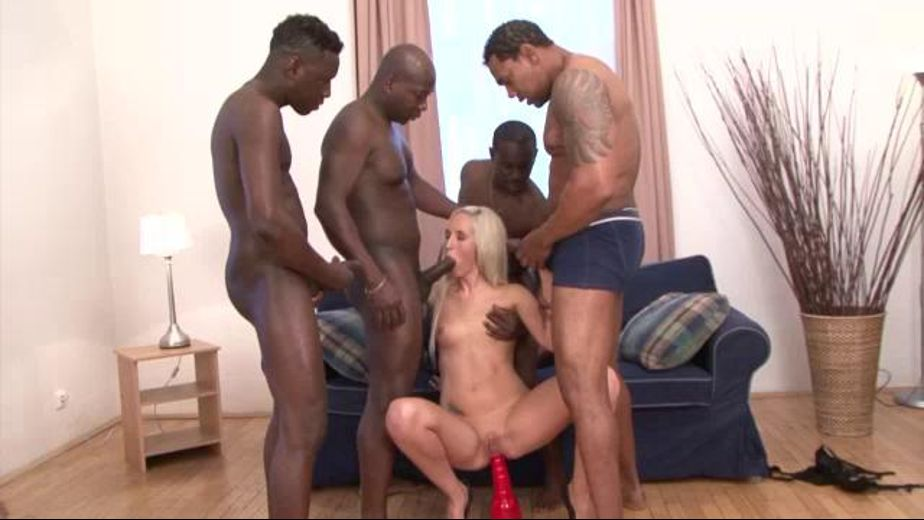 Four Guys And Nasty Little Slut, starring Franco Roccaforte, Joachim Kessef, Joss Lescaf and Jenny Simons, produced by Combat Zone. Video Categories: Interracial, Anal, Black, GangBang and Big Dick.