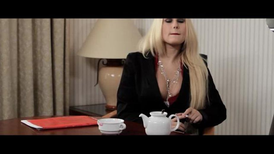Tea Time for Finger Bangers, starring Nella Elner and Angel Wicky, produced by Nathan Blake Productions, Sunset Media and Gothic Media. Video Categories: Lesbian.