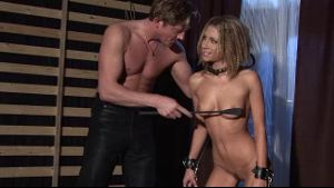 Rachel Evans is the New Tied Up Slave.