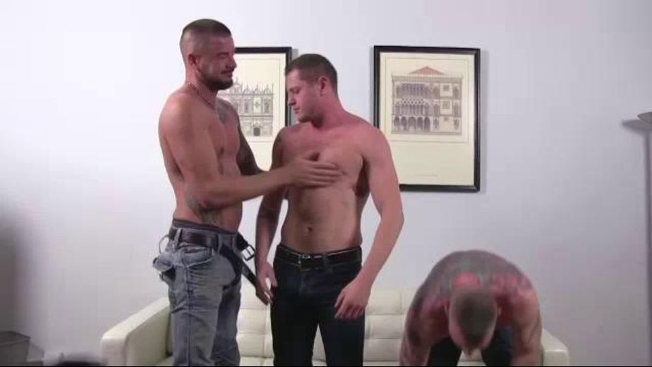 Dolf Dietrich Gets His Ass Occupied, starring Luke Thomas, Blue Bailey and Dolf Dietrich, produced by Raw Fuck Club and Dark Alley Media. Video Categories: Threeway, Fetish, Anal, Blowjob, Muscles and Bareback.