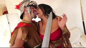 The Roman Centurian and the Iberian Lady.