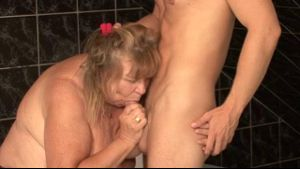 Dirty Horny Grandma Knows How To Fuck.
