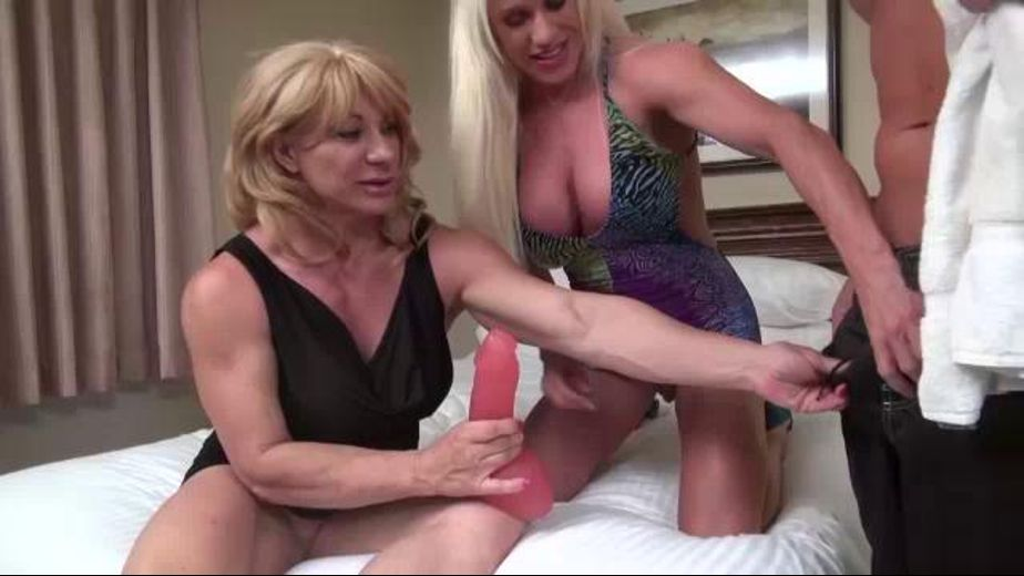 Weight Lifter Cougars Find a Hard Cock, starring Ashlee Chambers and Kat Connors, produced by CX WOW Production. Video Categories: Lesbian, Older/Younger, Mature, Big Tits, Big Dick, Threeway and Blondes.