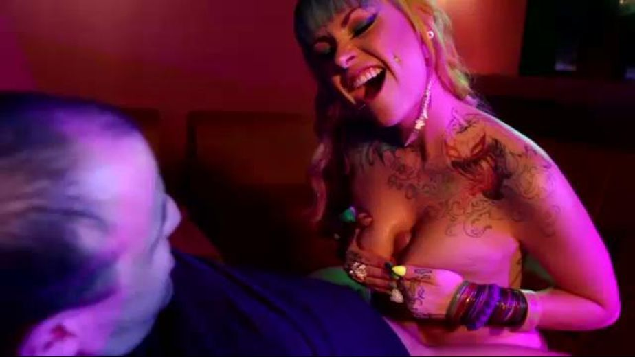 The Rainbow Stripper Cums in Colors, starring Vandal Vixen, produced by Quebec Productions. Video Categories: Gonzo, Natural Breasts, Fetish and Big Tits.