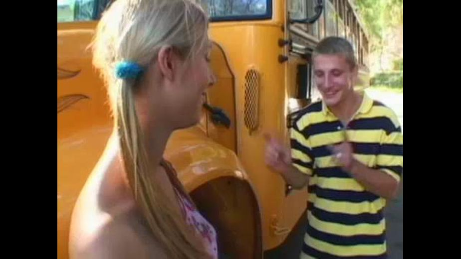 Blonde Teenage Nympho School Bus Blowjob, starring Brian Surewood and Crystal Ray, produced by Filmco. Video Categories: College Girls, Blondes and Blowjob.