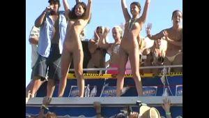 Florida Coeds Twerking in the Sun.