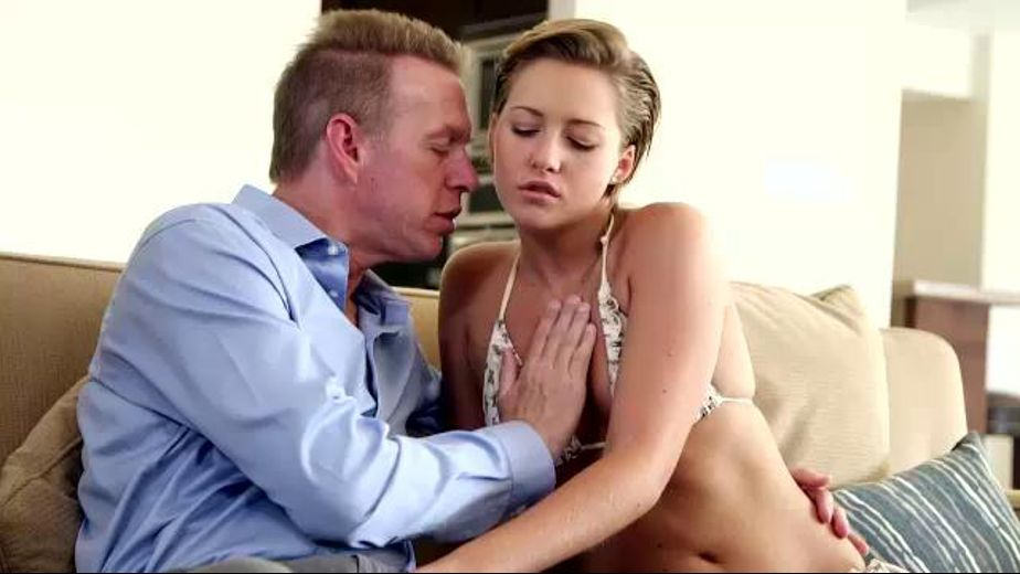 The Very Naughty Bikini Babysitter, starring Mark Wood and Bailey Bae, produced by Reality Junkies and Mile High Media. Video Categories: College Girls, Blondes and Small Tits.