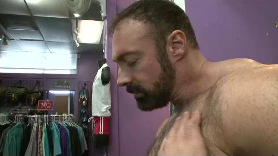 Horny Bears In The Gay Apparel Shop, produced by Pantheon Productions. Video Categories: Mature, Bear and Muscles.