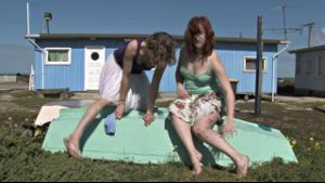 Cute Shipwrecked Aussie Lesbians Survive!.