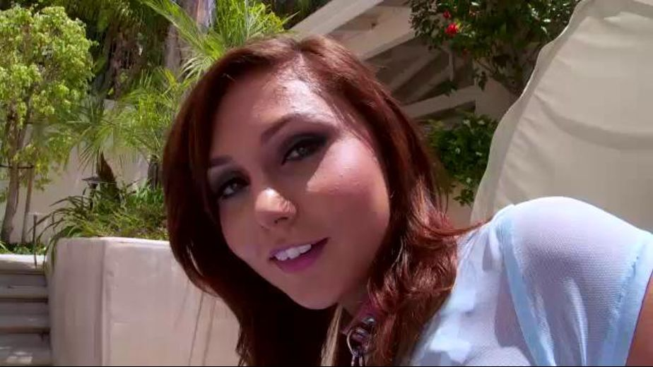 Cute Teen Slut Ariana Poolside, produced by Jules Jordan Video. Video Categories: College Girls, Gonzo, Threeway and Redheads.