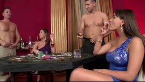 Upscale European Strip Poker Night.