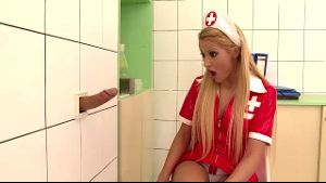 Cherry Kiss's Hidden Hospital Glory Hole.