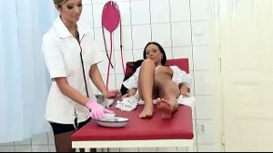 A Valentina Suprise From The Lesbian Nurse.