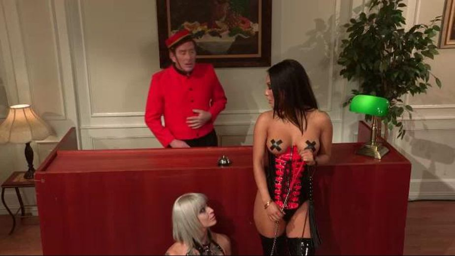 Suck My She Dick - Taking A Pet in The Hotel, starring Asa Akira and Kleio Valentine, produced by Wicked Pictures. Video Categories: Asian, BDSM, Lesbian, Fetish, Blondes and Adult Humor.
