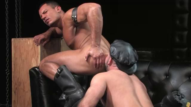 Leather gay big dick images