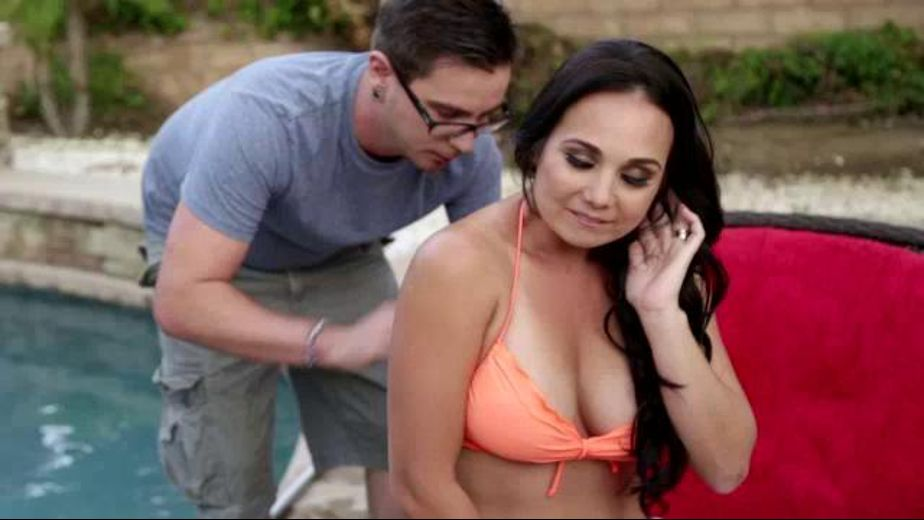 MILF Holly West Corrupts The Pool Boy, starring Holly West and Dane Cross, produced by Reality Junkies and Mile High Media. Video Categories: Brunettes, Older/Younger, MILF and Big Tits.