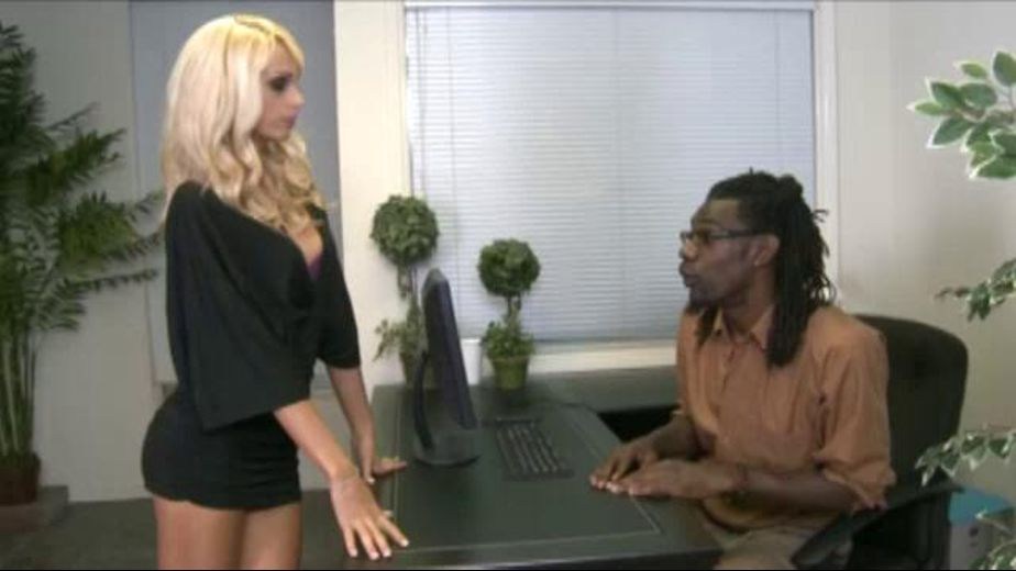 Blonde Erica Fontes is Looking for a Job, starring Erica Fontes, produced by North Pole Enterprises. Video Categories: Big Dick, Interracial, Blowjob and Blondes.