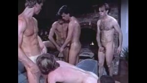 Orgy at the Mountaintop Ski Lodge.