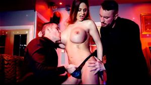 Cathy Heaven Looks For Action In A Fetish Club.