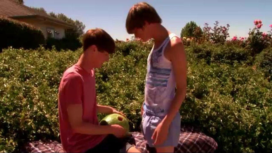 Summer Twinks Fuck Watermelons, starring Cody Cachet and Elijah White, produced by Next Door Studios. Video Categories: Safe Sex and College Guys.