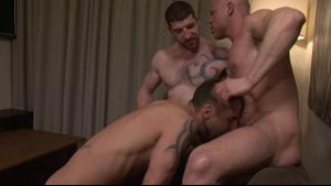Jonathan Agassi, Jeff Stronger and Marco Milan.