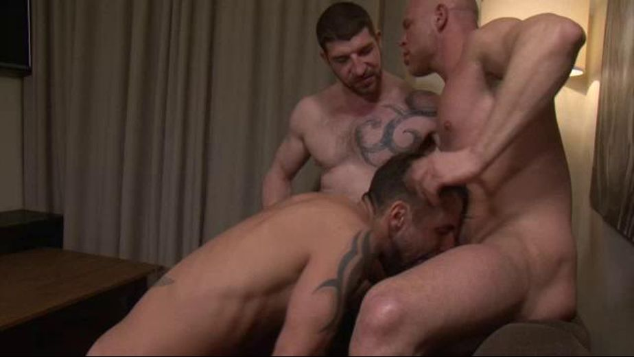 Jonathan Agassi, Jeff Stronger and Marco Milan, starring Jonathan Agassi, Jeff Stronger and Marco Milan, produced by Lucas Entertainment. Video Categories: Muscles, Bareback, Blowjob and Threeway.