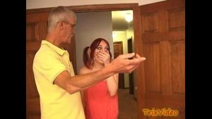 Daughter Discovers Mom and the Old Man's Orgy.