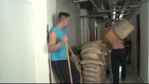 Czech Man Working Indoors Drills Ass.