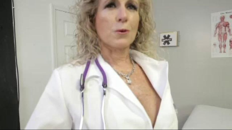 Impatient Doctor Cougar Waits for Her Patient, starring Jade Jamison, produced by Josh Stone Productions. Video Categories: Gonzo, Masturbation, Mature and Blondes.