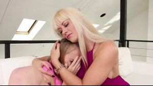 Stepmom Consoles Her Daughter.
