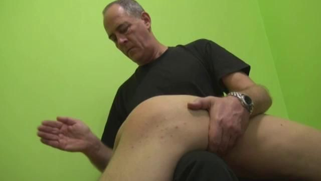 Old men spank twinks