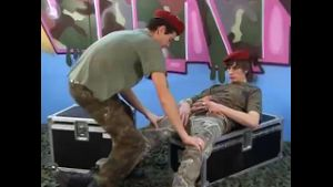 Twinks in Red Berets and Camouflage.