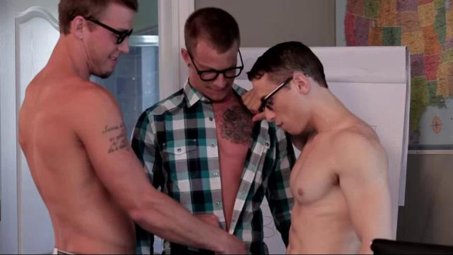 Dweebs Study How to Have Anal, starring Jaxon Colt, Dante Martin and Austin Storm, produced by Next Door Studios. Video Categories: Threeway, Anal, Muscles and Blowjob.