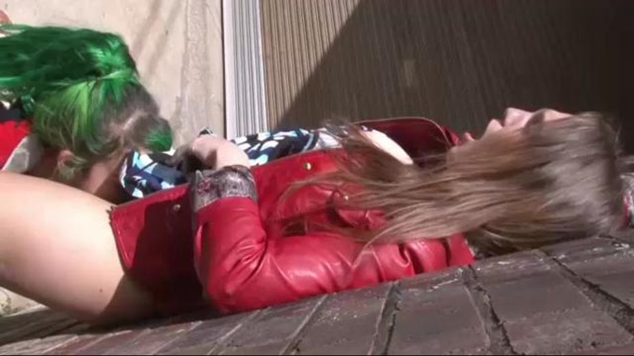 Licking Pussy All Over Town, starring Emerald and Anne, produced by Girls Out West. Video Categories: Amateur, Lesbian and Natural Breasts.