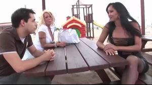 Meeting Transsexual Babes on a Lonely Beach.